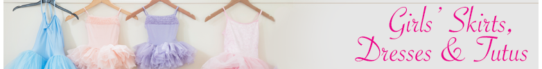 Girls' Skirts, Dresses & Tutus