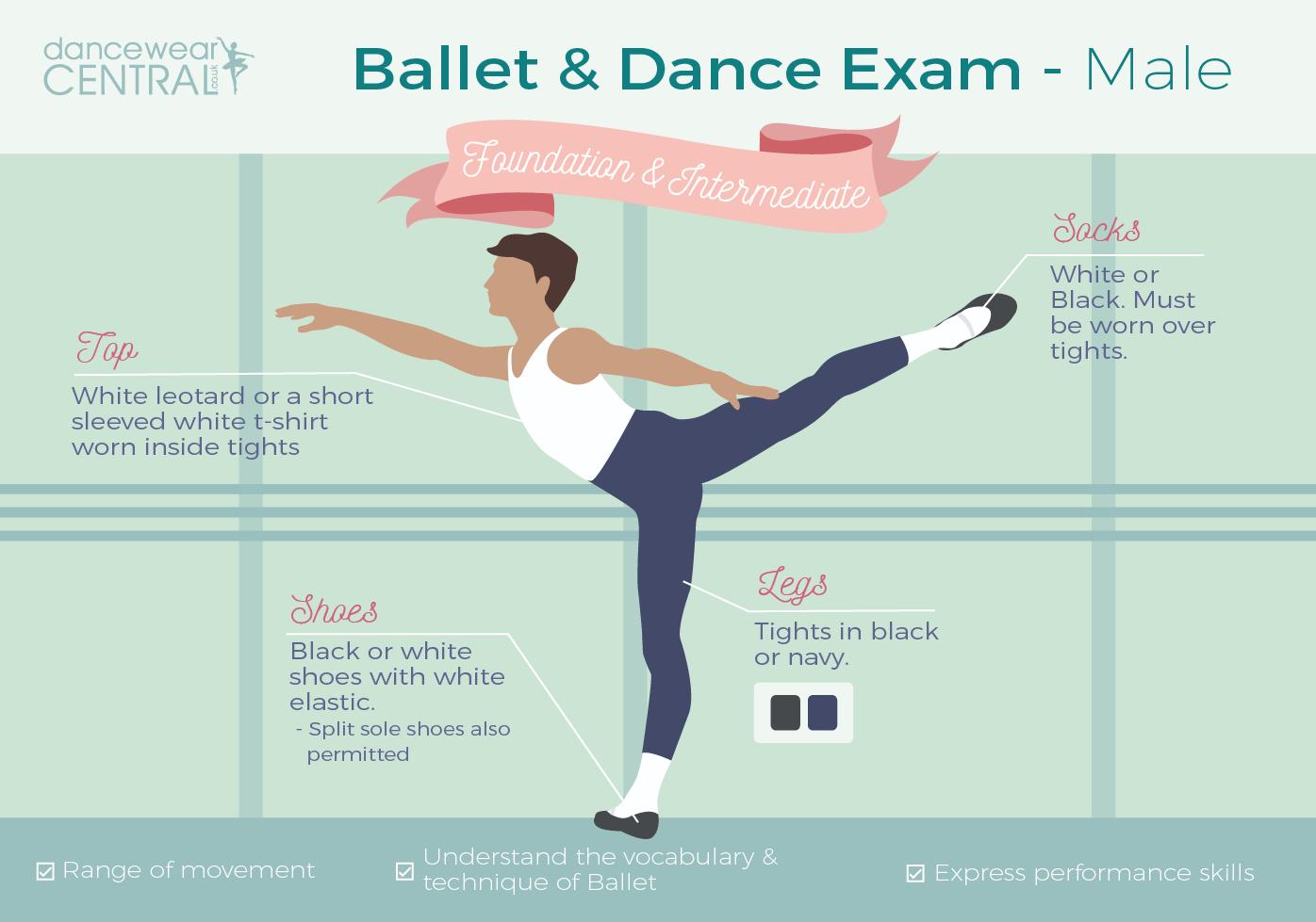 Male Ballet Dancer Uniform