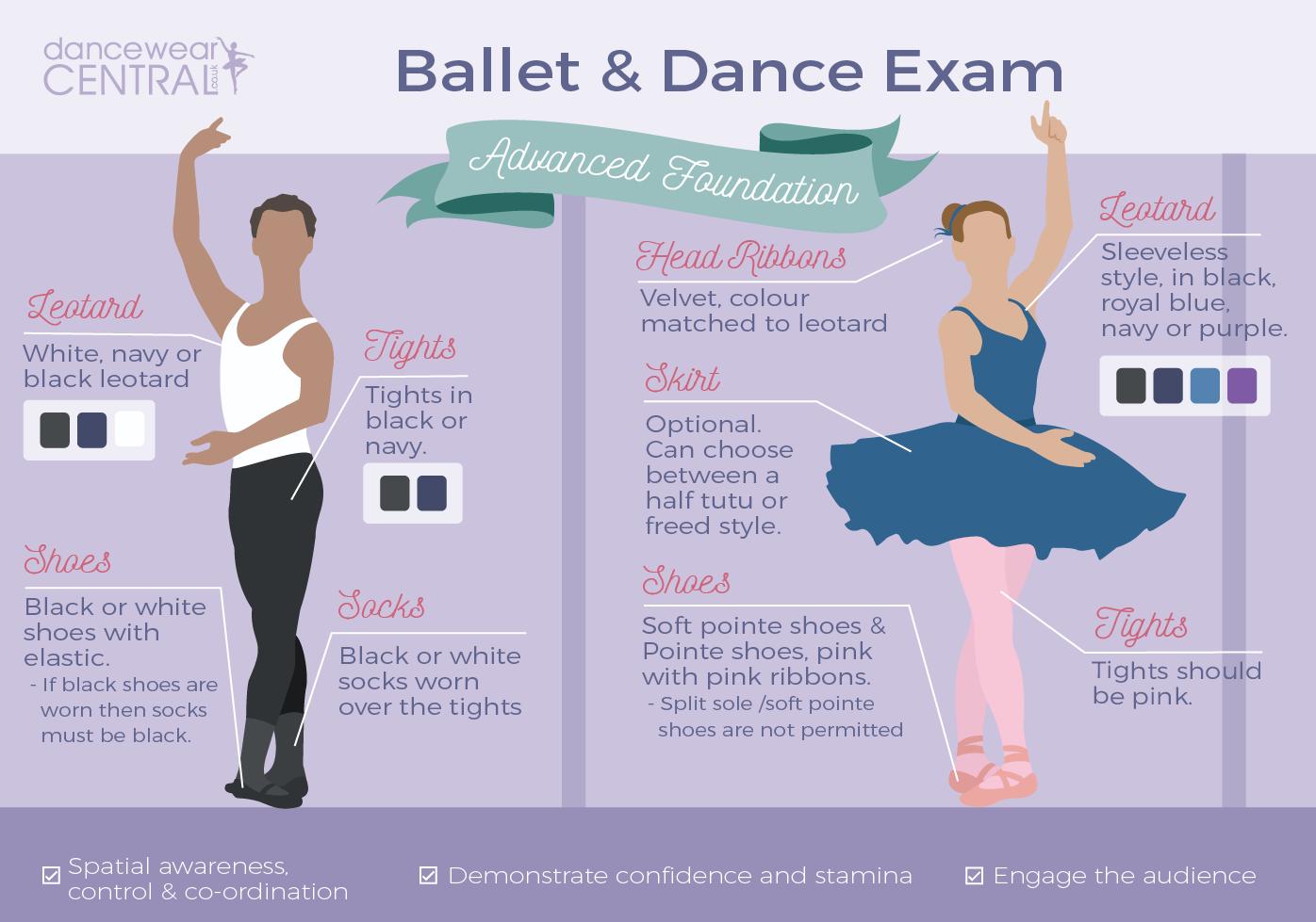 RAD Advanced Foundation Ballet Exam