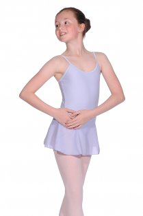 Aida Girls' Camisole Leotard with Skirt