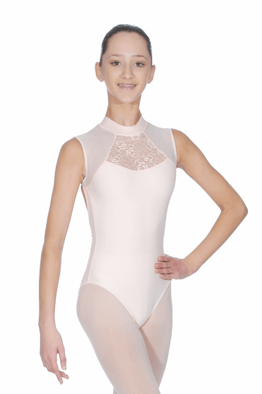 Anita high neck leotard