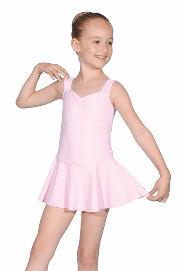 Approved bbodance Sleeveless Skirted Leotard