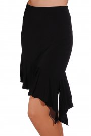 Asymmetrical Short Ruffle Skirt