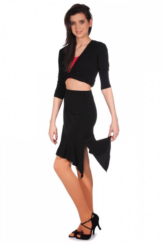 Capezio Asymmetrical Short Ruffle Skirt 7425