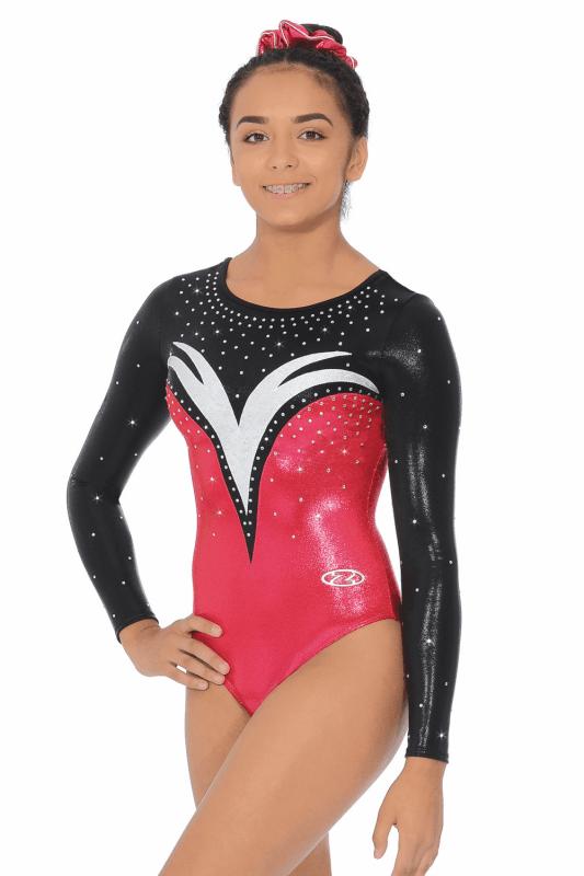 The Zone Athena Long Sleeve Gymnastics Leotard