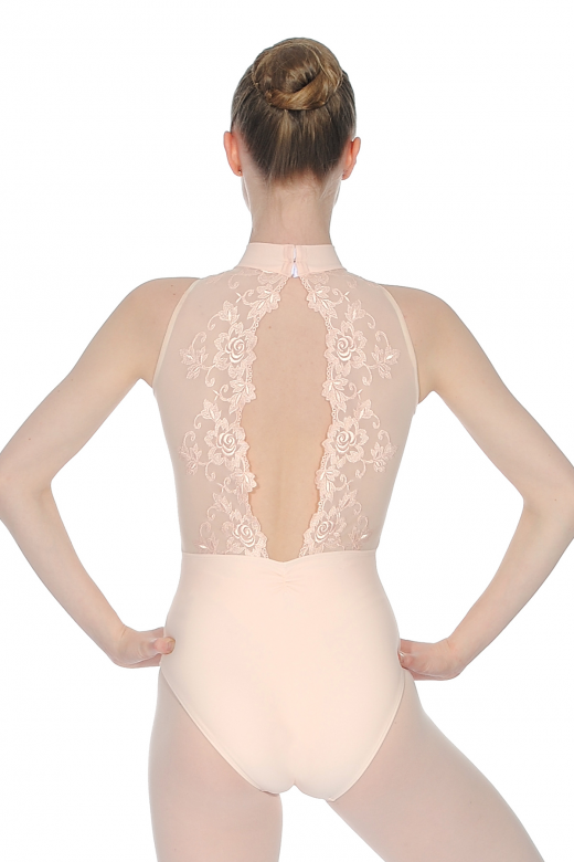 Ballet Rosa Amelie High Neck Leotard