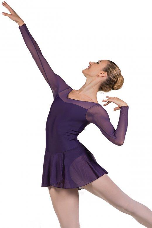 Ballet Rosa Francesca Long Sleeve Ladies' Leotard with Skirt
