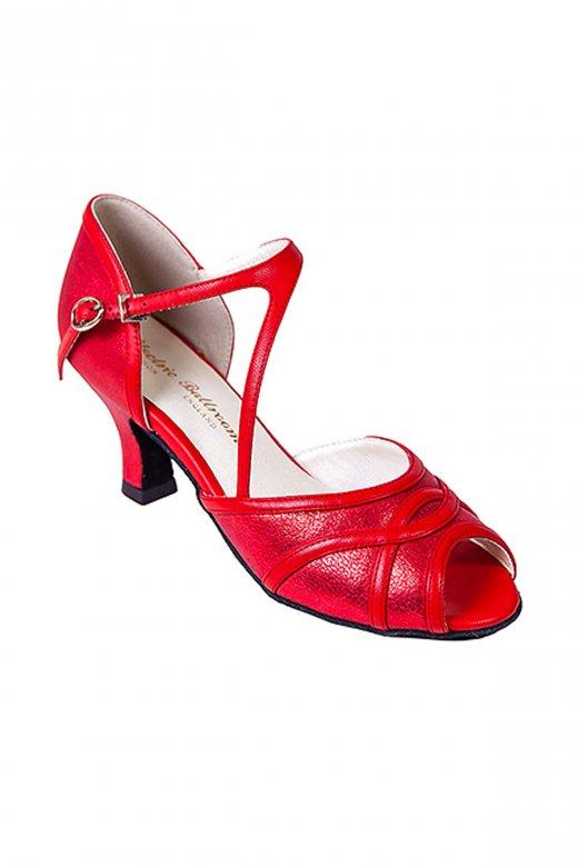 Electric Ballroom Bev Social Peep Toe Shoe
