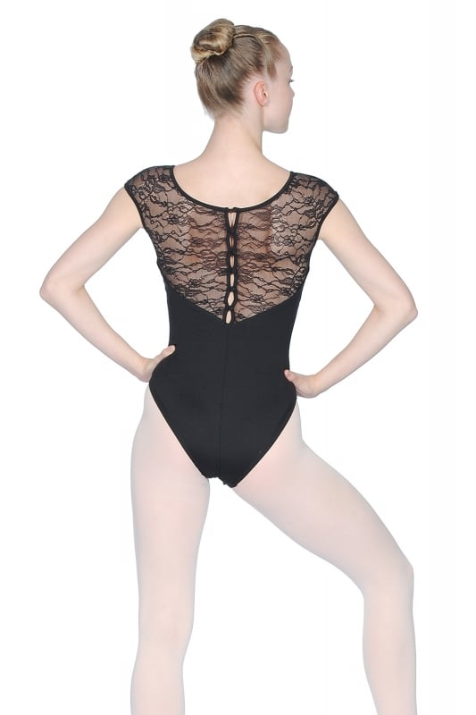 a483c87ba9 Bloch Lace Button Back Leotard
