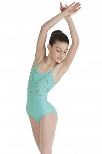 Fenouil Girls' Sleeveless Leotard