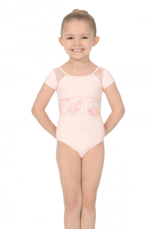 Bloch Girls' Cap Sleeve Leotard