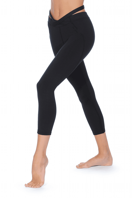 fe0f3c49019c3 Bloch Cross Over Waist Leggings |Girls' Leisurewear (I-FP5082C)