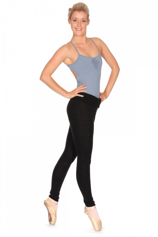Bloch Marcy Rollover Knitted Pants