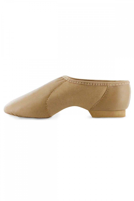 Danshuz Value Jazz Shoe for Child Youth Sizes Black /& Tan Girls /& Boys New