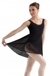 Panel Mesh Dress