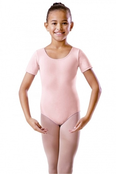 Short Sleeve Primary Exam Cotton Leotard