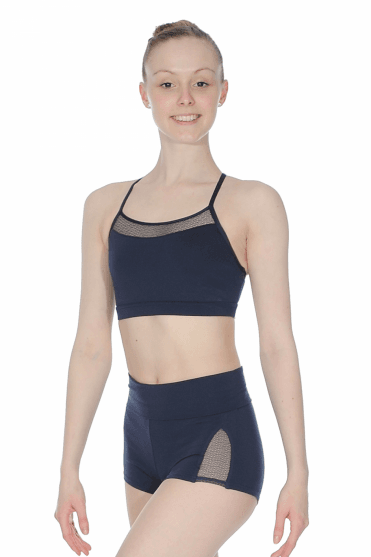 Bra Top with Lace Back Capezio