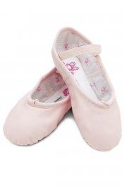 Bunnyhop Children's Leather Ballet Shoes