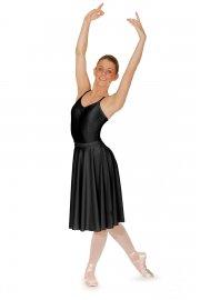 Calf Length Nylon/Lycra Circular Skirt
