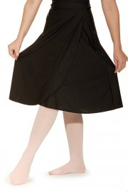 Calf Length Wrapover skirt