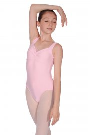 Camille Matte Lycra Sleeveless Leotard