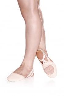 Canvas Half Sole Dance Shoe