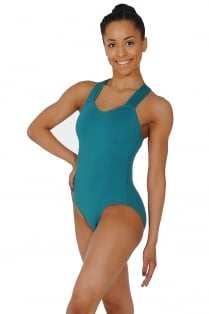 Cap Sleeve Cross-Over Back Ladies' Leotard