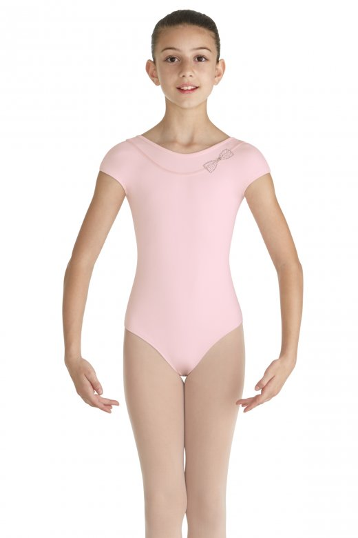 Mirella Cap Sleeved Mirabel Leotard for Girls