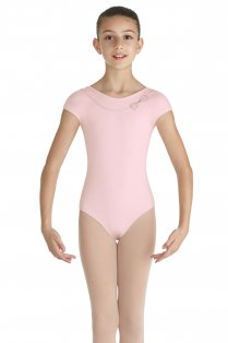 Cap Sleeved Mirabel Leotard for Girls