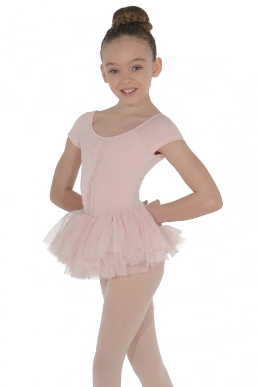 Mirella Cap Sleeved Tutu Leotard