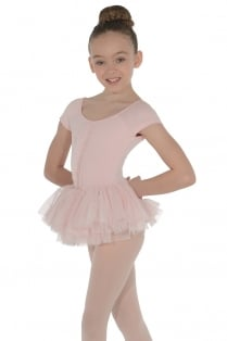 Cap Sleeved Tutu Leotard