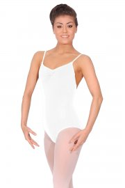 Adjustable Pinch Camisole Leotard
