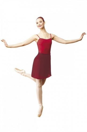 Adults' Long Wrap Georgette Skirt