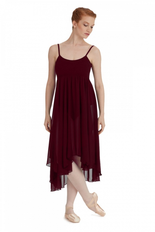 Capezio Camisole Empire Dress with Georgette Skirt