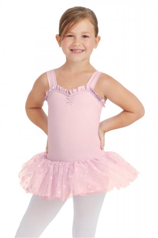 daa7150abd Capezio Heart Shaped Tutu Dress   Dancewear Central