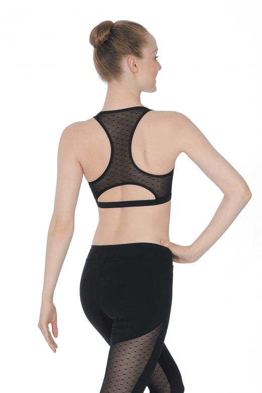 Capezio Ladies' Mesh Crop Top