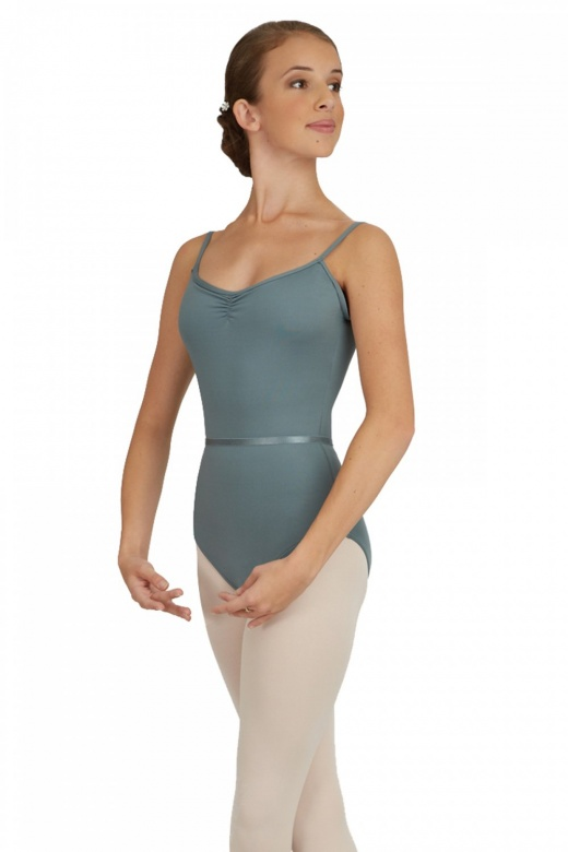 Capezio Ladies' Pinch-Front Camisole Leotard