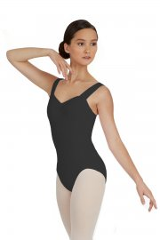 Ladies' Tactel Wide Strap Leotard