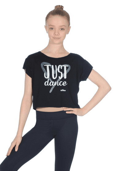 Child Crop Dance T-shirt