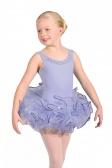 Leo Children's Sequin Trim Bando Tutu Skirt