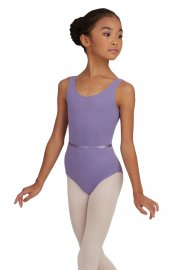 Children's Tank Leotard with Belt