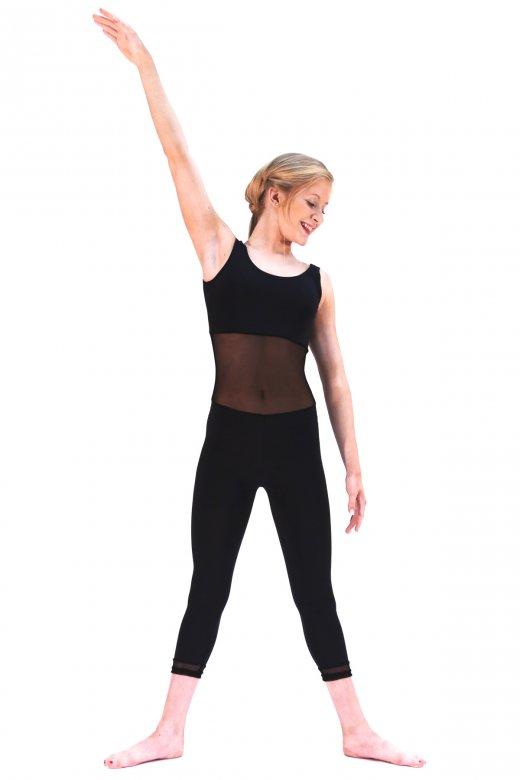 Dans-Ez Dancewear Contemporary Mesh Unitard