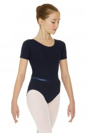 Cotton Jeanette Short Sleeve Exam Leotard