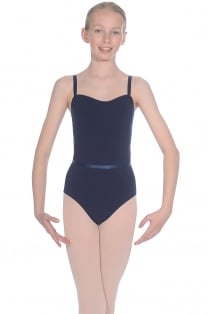Cotton Major Exam Leotard with Belt