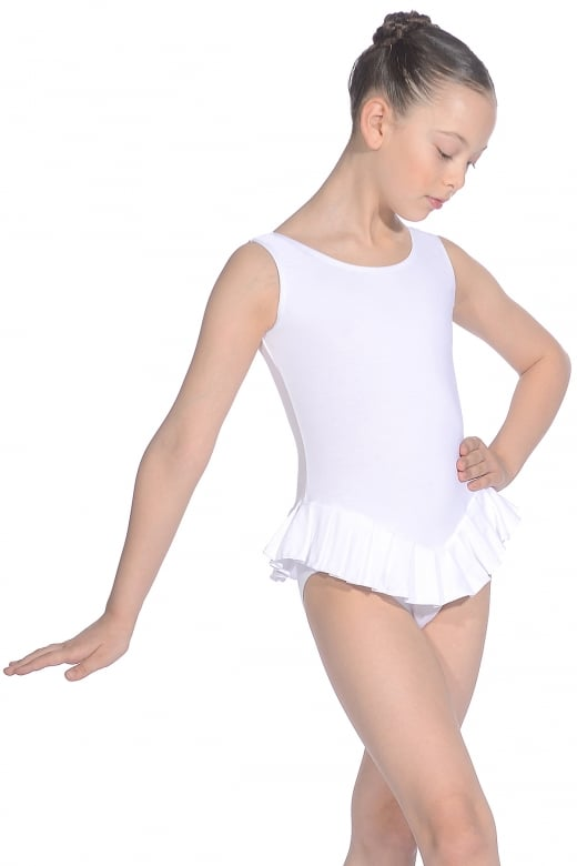 Roch Valley Cotton Sleeveless Frilly Leotard