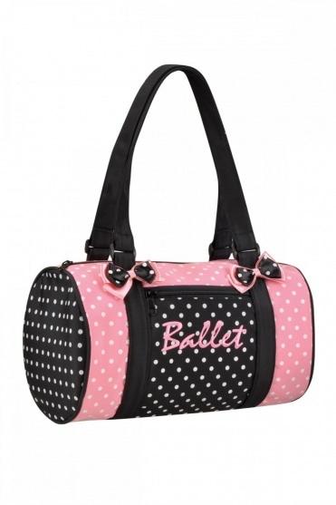 Dancin' Dots Ballet Duffle Bag