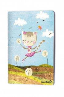 Dancing Cat A5 Notebook