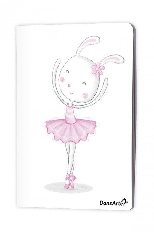 Danzarte Dancing Bunny A5 Notebook