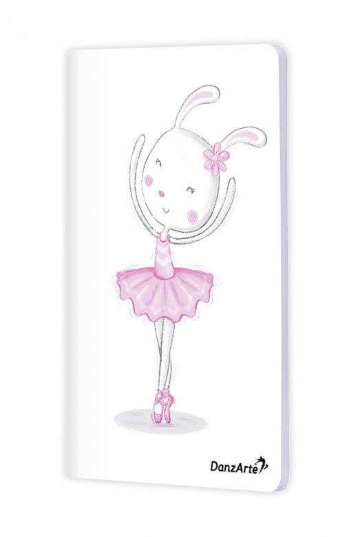 Danzarte Dancing Bunny A6 Notebook
