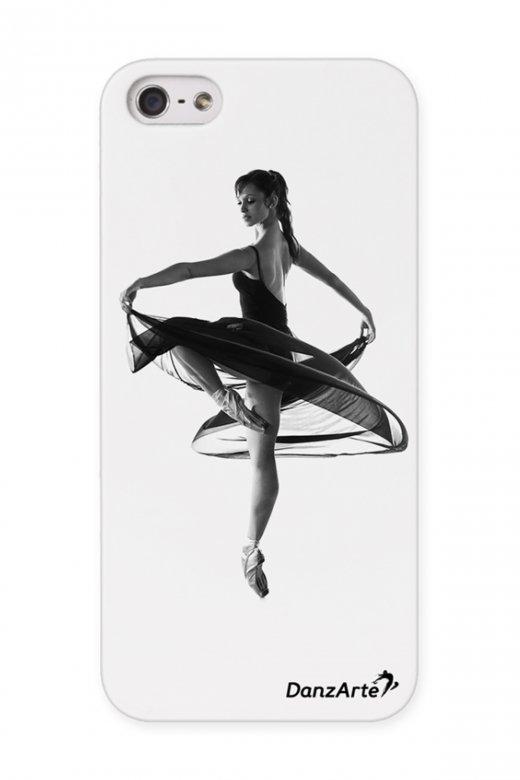 Danzarte Turning Pointe iPhone 5/5S Transparent Case